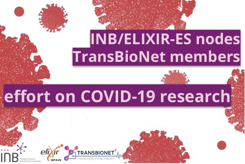 INB/ELIXIR-ES nodes and TransBioNet members effort on COVID-19 research